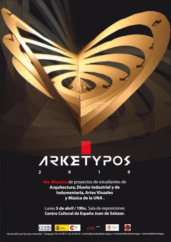 Arketypos 2010 comienza 5 de abril en el centro for Carrera de diseno industrial