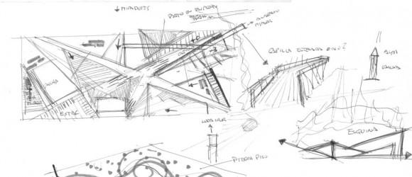 corquis planta arquitecónica arquitectura urbana, plaza, diseño, exterior, jardín