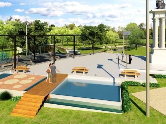 recreación y el mejoramiento de espacios públicos, hacer ciudad, mejorarla, la calle y la plaza.