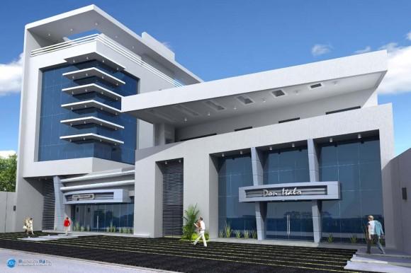 3D Ampliación Edificio SPEED