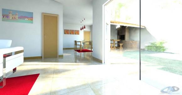 3D Interior Duplex Confederación