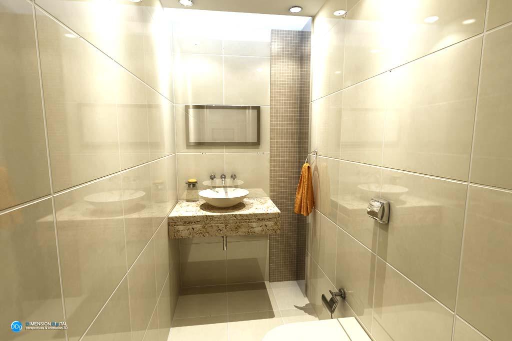 3d ba os render paraguay galer a On baños arquitectura diseño