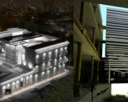 3D Concurso Ministerio del Interior render arquitectura y construcción