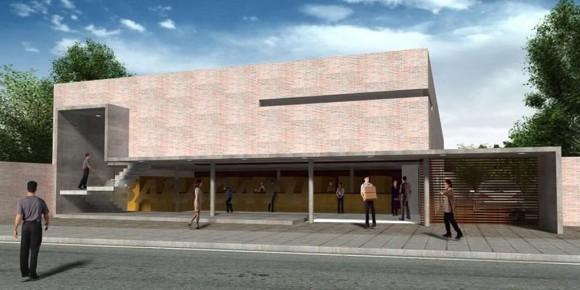 3d ferreteria mbaracayu render arquitectura y construcción