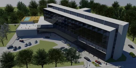 3D Hotel para la CSF Render arquitectura y construcción
