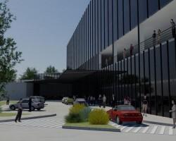3D Hotel para la CSF Render Arquitectura, Construcción y Diseño