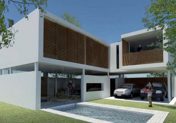 3D Vivienda Isabel Morínigo Render arquitectura y construcción