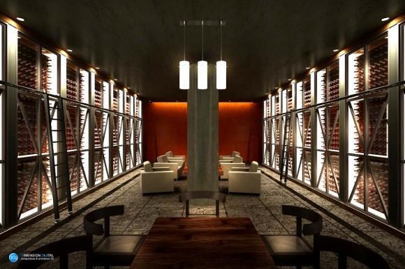 Interior Bodega Diseño Arquitectura