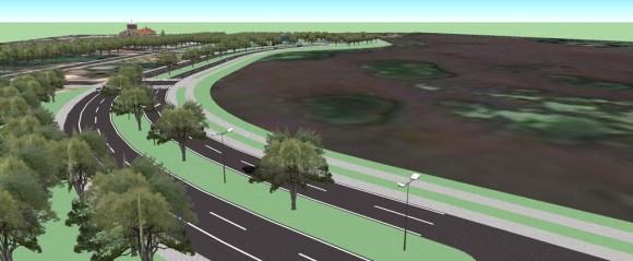 Renders del proyecto vial paisajístico Paseo Costero de Pilar en su 1ra. Fase de 1,5 km. aprox.