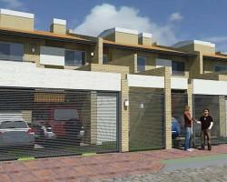 3D Duplex Ariel Render