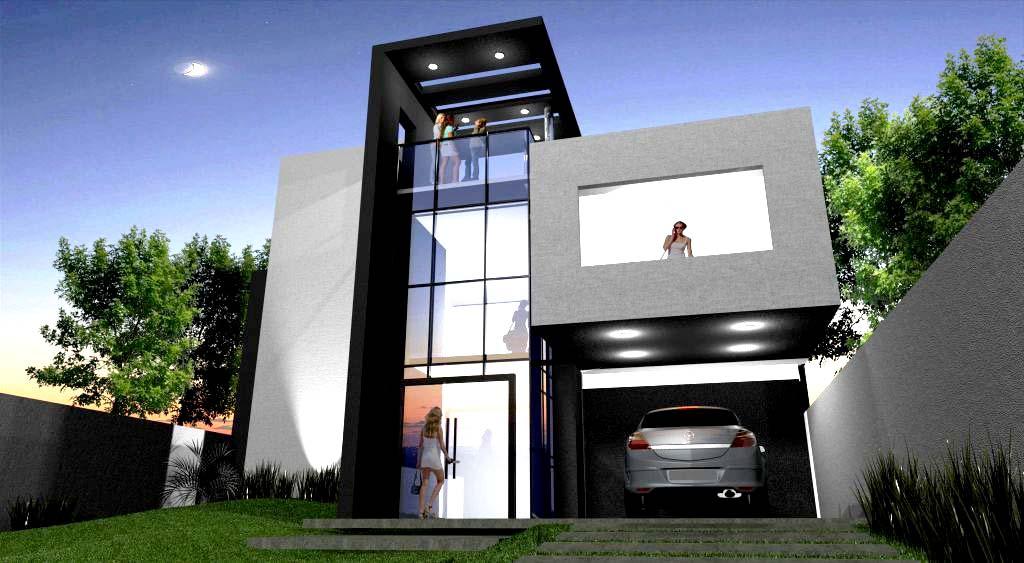 Fachadas casas minimalistas foto imagen balamuda car for Fachadas de casas modernas puerto rico