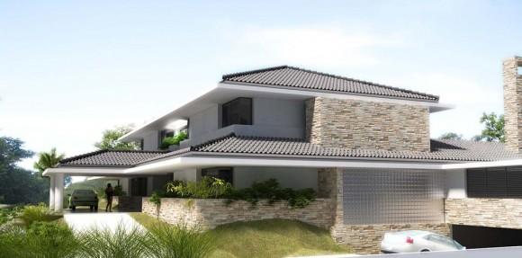 3D Vivienda Unifamiliar Country Club de Hernandarias Render