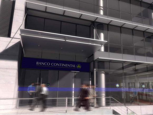 Proyecto ganador banco continental en construccion