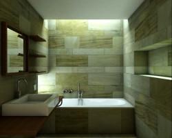 3d Ba O Minimalista Dise O Interior Render Arquitectos
