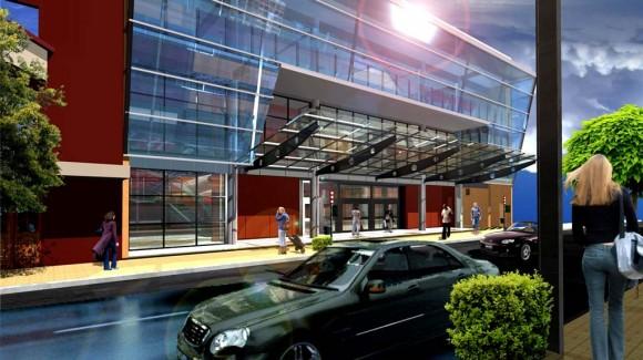 Edificio Galería Comercial Arquitectura comercial tipica