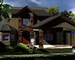3D Residencia en O Render