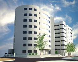 3D Edificio Irrazábal Render