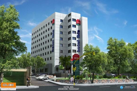 3D IBIS Hotel Render