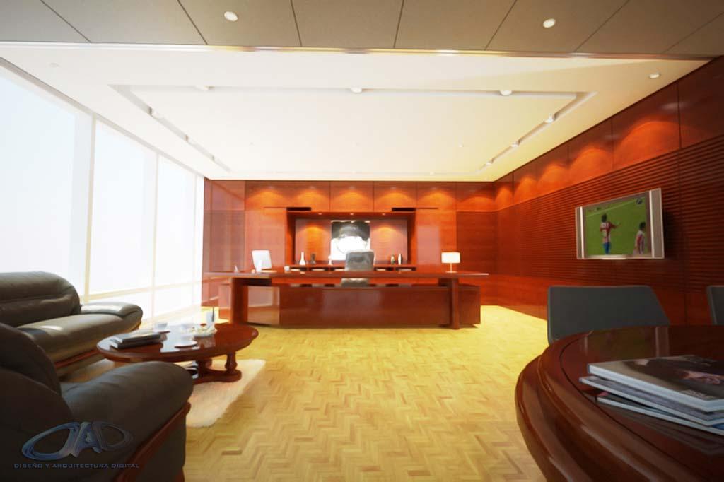3d Propuesta Dise O Interior Oficina Render