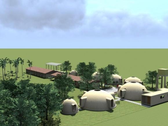 3D Centro de Promoción Campesina la Cordillera Render