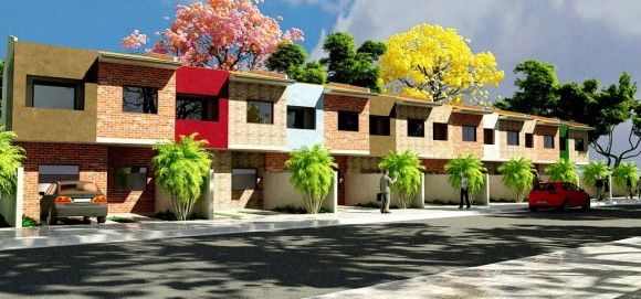 3D Duplex en Tira Render