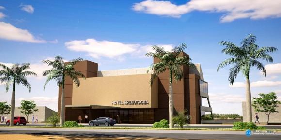 3D Hotel Arecuatacuá Acceso