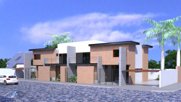 3D Viviendas en Duplex Render