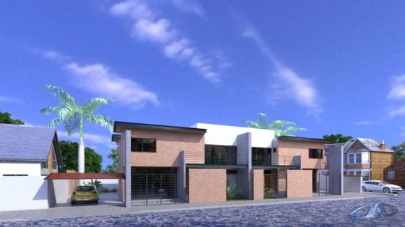 Propuesta de anteproyecto para viviendas tipo duplex