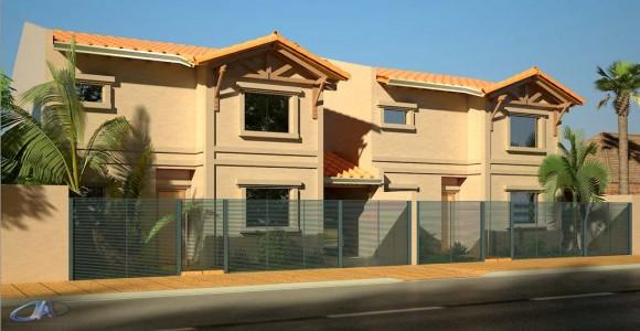 Fachada Duplex Inversión Inmobiliaria