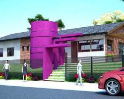 3D Ampliación de Vivienda Unifamiliar Render
