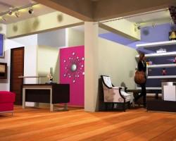 3D Salón Comercial de Exposiciones Render