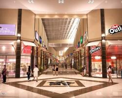 3D Diseño Interior Shopping San Lorenzo Render Arquitectura Comercial