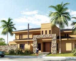 3D Vivienda para Barrio Cerrado Render Arquitectura Inversión