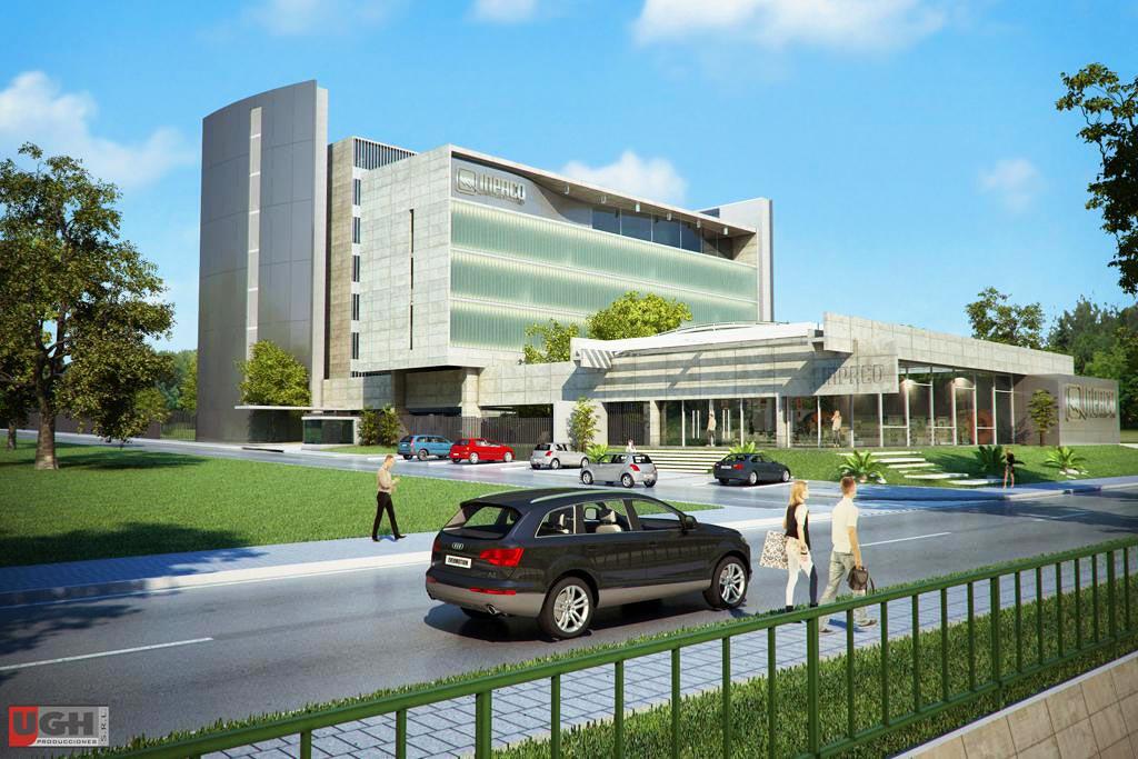 3d impaco oficinas administrativas render arquitectos for Planos de oficinas administrativas