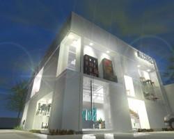 3D Show Room - Alcores SRL Render