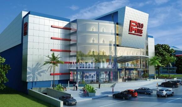 3D Polo Modas Shopping Center Render Arquitectura Comercial