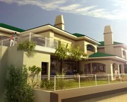 3D Vivienda Tipo Penthouse sobre comercio existente.