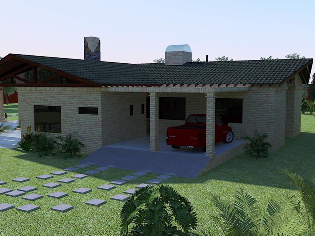 3d casa de campo render arquitectura de casas for Rendering casa gratis