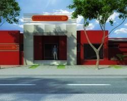 3D Anteproyecto de Comercio Render Arquitectura Comercial