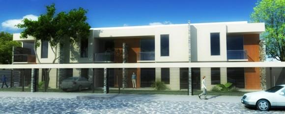 3D Anteproyecto Viviendas Multifamiliares Render