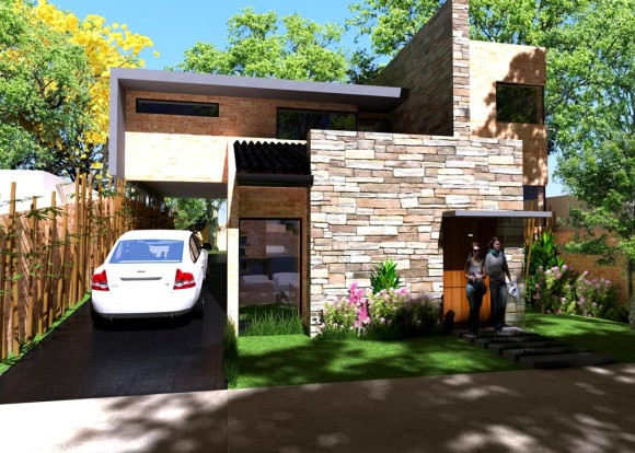 3d vivienda viveros render for Viveros en paraguay