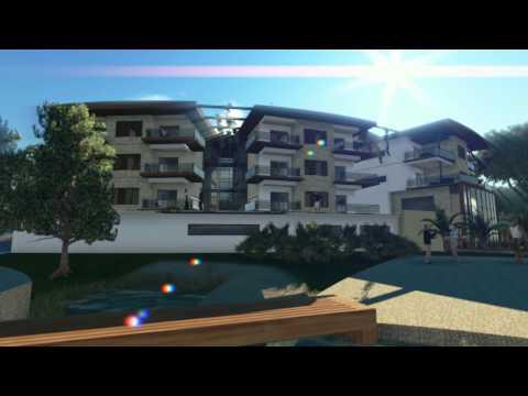 3D Animación Hotel Resort Natura