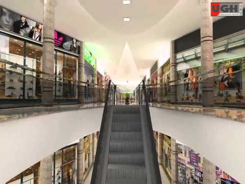 3D Animación Shopping Mercosur