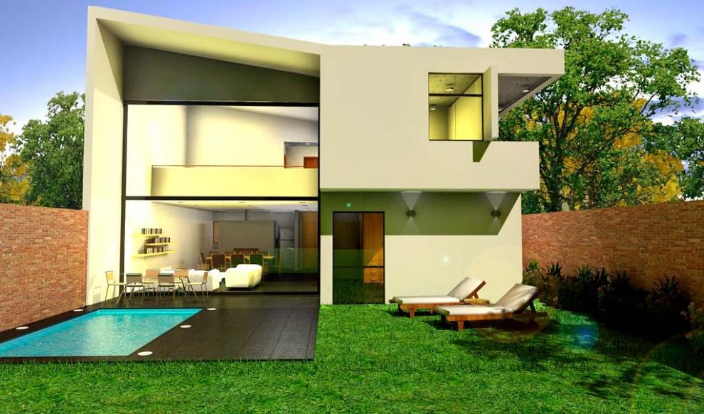 Arquitectura sobre espacios interiores y exteriores urbanos for Espacios interiores de casas