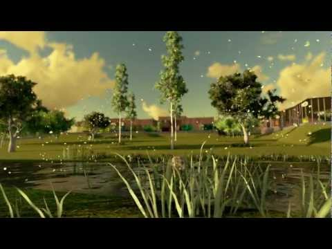 3D Animación Mercado Nueva Colombia Render