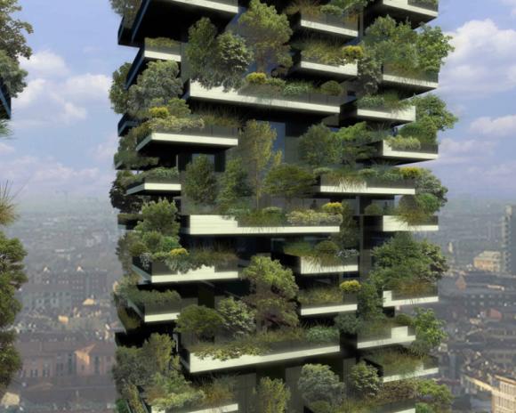El Primer Bosque Vertical Boeri Studio