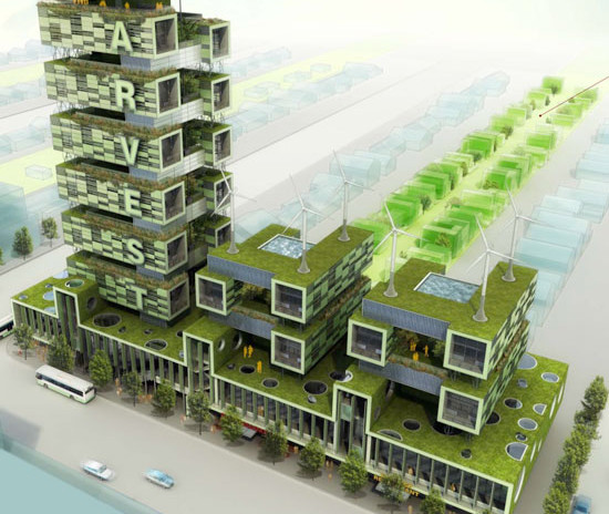Harvest Green Project Romses Architects