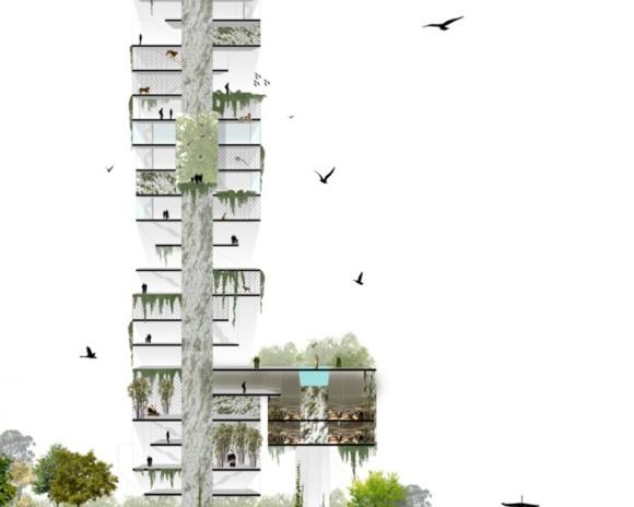 Vertical Zoo BuBa Arquitectos