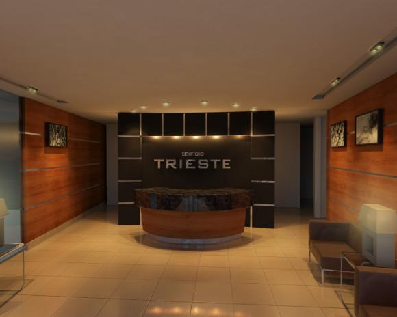 Edificio Trieste-Lobby