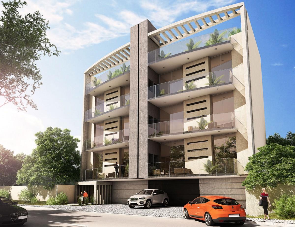 Nueva modalidad de viviendas for Edificios minimalistas fotos